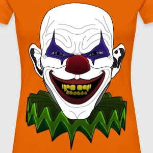 Bad sick clown T-Shirts - Frauen Premium T-Shirt