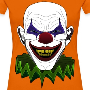 evil sick clown T-Shirts - Women's Premium T-Shirt