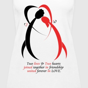 Friendship 2 love - Women's Premium Tank Top