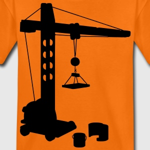 crane profession Kinder T-Shirts - Teenager Premium T-Shirt