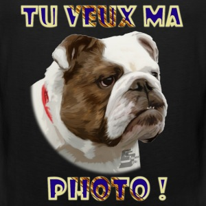 bulldog 1b by customstyle Tee shirts - Débardeur Premium Homme