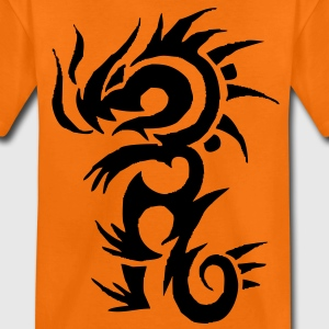 tribal tattoo dragon Kinder shirts - Teenager Premium T-shirt