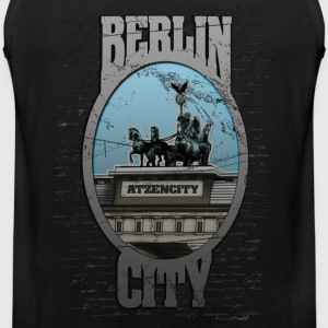 berlin T-Shirts - Men's Premium Tank Top