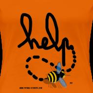 Motif ~ Help femme orange