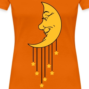Moon Star (2c) T-Shirts - Women's Premium T-Shirt