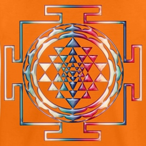 SRI YANTRA - glass | Kindershirt - Teenager Premium T-Shirt