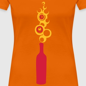 bouteille bulle111 Tee shirts - T-shirt Premium Femme