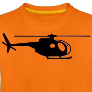 helicopter kids military rc Barn-T-shirts - Premium-T-shirt tonåring