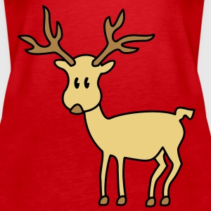 reindeer Tops - Women's Premium Tank Top