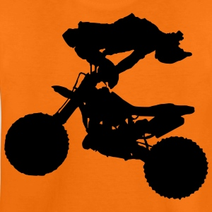 motorcross x games freestyle cross sport Kinder T-Shirts - Teenager Premium T-Shirt