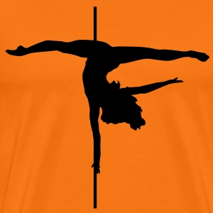Pole - Dance T-skjorter - Premium T-skjorte for menn