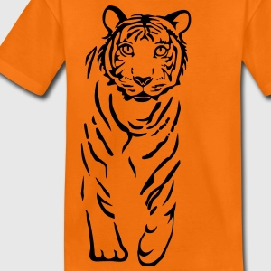 chat tigre lion Tee shirts Enfants - T-shirt Premium Ado