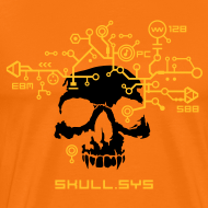 Design ~ Skull.sys yellow/black