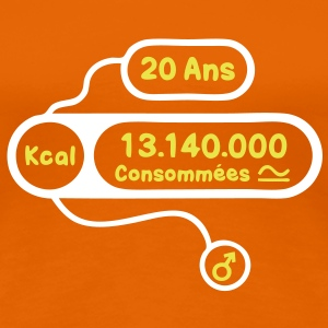 20 ans kcal calories consommees Tee shirts - T-shirt Premium Femme