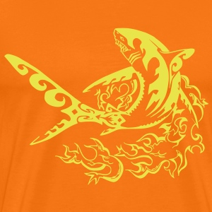 fire shark - T-shirt Premium Homme