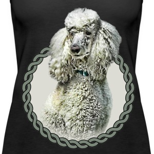 Poodle 001 Tops - Women's Premium Tank Top