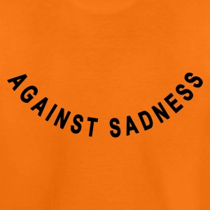 against sadness (smiley) :-: - Premium-T-shirt tonåring