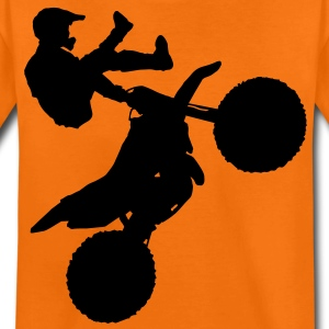 motorcross x games freestyle cross sport Barn-T-shirts - Premium-T-shirt tonåring