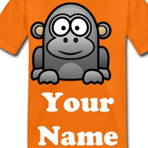 Cheeky The Monkey - Teenage Premium T-Shirt
