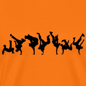 break dance hip hop danseur19 Tee shirts - T-shirt Premium Homme