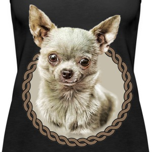Chihuahua 001 Tops - Women's Premium Tank Top