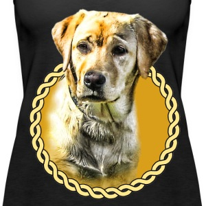 Labrador 001 Tops - Women's Premium Tank Top