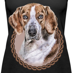 American Foxhound 001 Tops - Women's Premium Tank Top