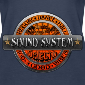 sound system reggae dance hall jamaica Top - Canotta premium da donna