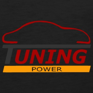 tuning power T-Shirts - Men's Premium Tank Top