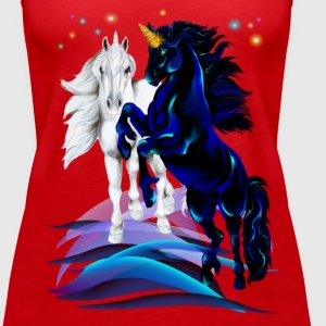 Two Unicorn Stallion - Frauen Premium Tank Top
