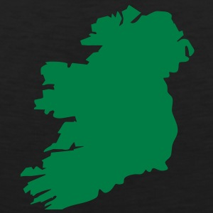 1 color - Ireland irish Shamrock Saint Sankt Patricks Day Map Irland Irisch Kleeblatt T-shirts - Mannen Premium tank top