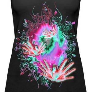 FLYING HANDS | Frauen Tank Top - Frauen Premium Tank Top