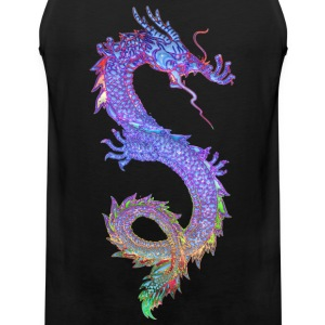MAGIC DRAGON | Männershirt ärmellos - Männer Premium Tank Top