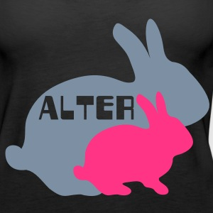 Alter Hase Tops - Frauen Premium Tank Top