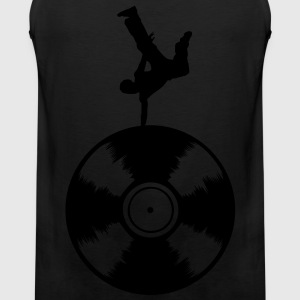 dancer silhouette T-Shirts - Männer Premium Tank Top