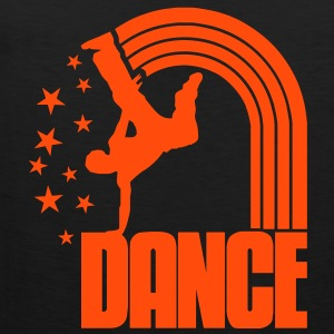 dancer stars T-Shirts - Men's Premium Tank Top