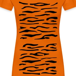 Tiger Stripes Women's T-Shirt - Women's Premium T-Shirt