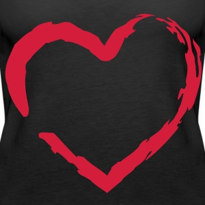 Liebe, Love, Pärchen, Paare, couples, Valentinstag, Valentine, Verliebt, In love, Paare, couples, www.eushirt.com Tops - Frauen Premium Tank Top