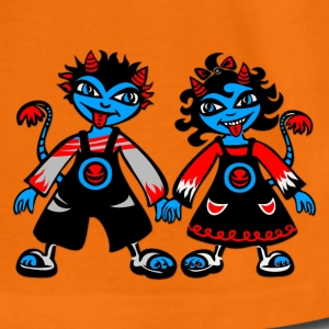 Little Devils, digital, Illustration Kids' Shirts - Teenage Premium T-Shirt