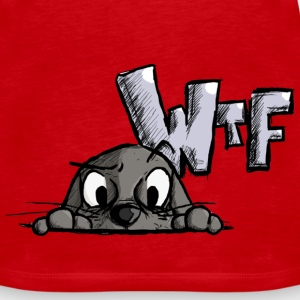 WTF? Tops - Frauen Premium Tank Top