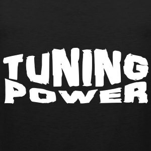 tuning power T-shirts - Herre Premium tanktop