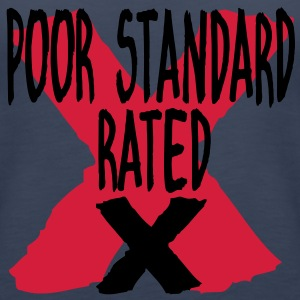 POOR STANDARD RATED X Tops - Women's Premium Tank Top