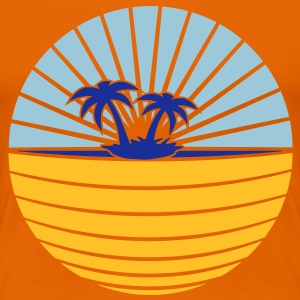 beach T-Shirts - Women's Premium T-Shirt