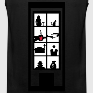 Crime Scene T-Shirts - Men's Premium Tank Top