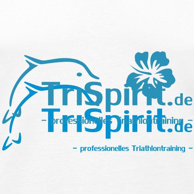 Arti Muskelshirt blaues Logo mit Slogan