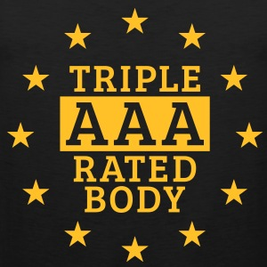 Triple AAA Rated Body, Men's Tank Top - Men's Premium Tank Top