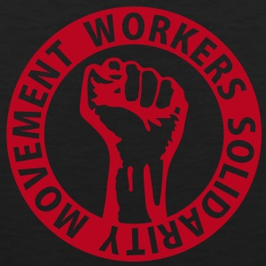 1 colors - Workers Solidarity Movement - Working Class Unity Against Capitalism T-shirts - Mannen Premium tank top
