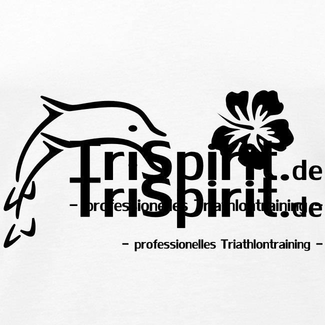 Arti Muskelshirt schwarzes Logo mit Slogan