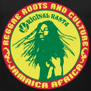 reggae roots and_culture jamaica africa Tee shirts - Débardeur Premium Homme