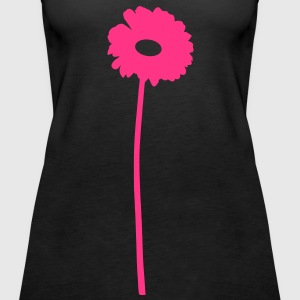 Blume Tops - Frauen Premium Tank Top